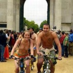世界裸体自行车日·裸骑