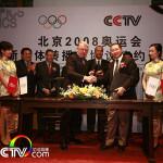 CCTV.com获得北京奥运互联网与手机平台独家转播权(中国大陆及澳门)